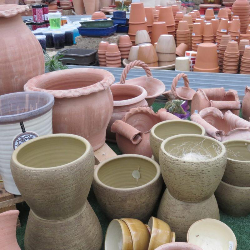 Vasi & contenitori in cotto e ceramica